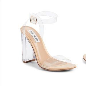 Steve madden Camille clear sandal